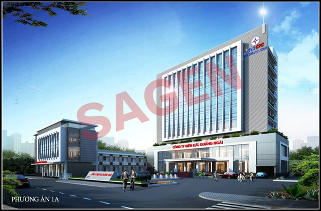Sagen has won first prizes in The Architectural Design Contest Of Quang Ngai Power Executive Office