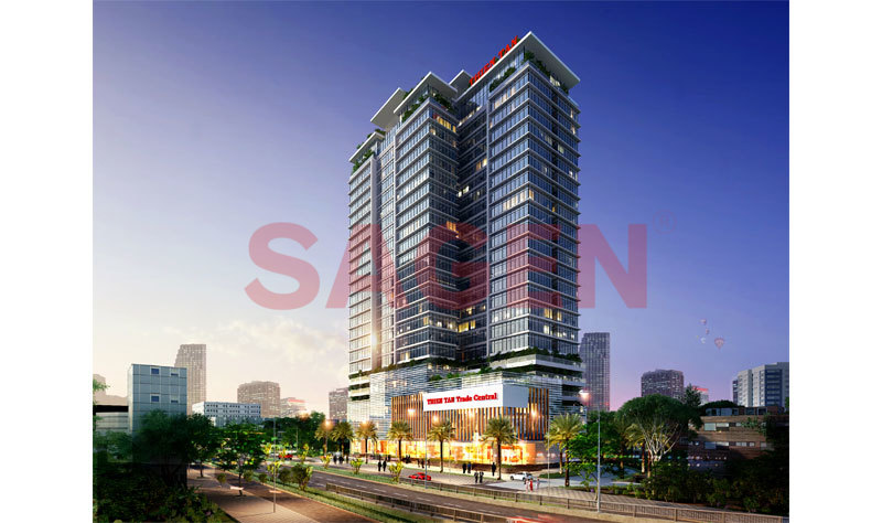 Thien Tan Land Hotel & Apartment Commercial Center
