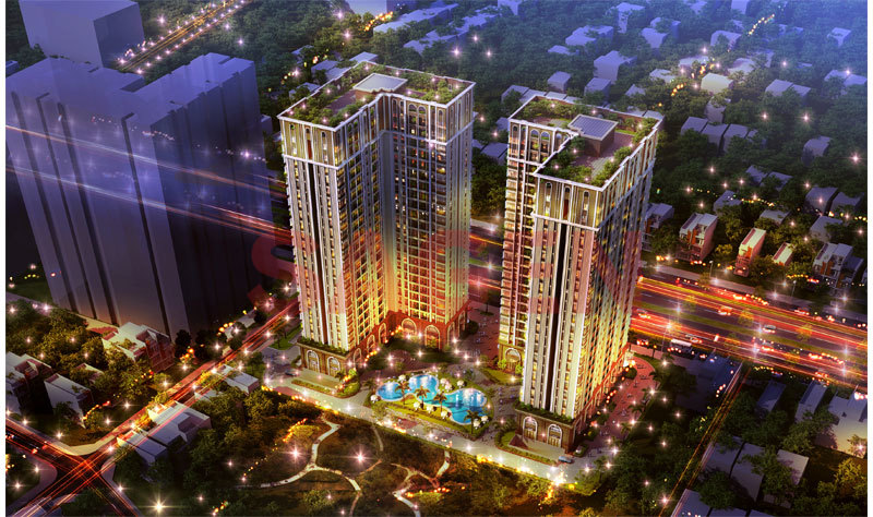 Hung Thinh Trade Center Combined with Apartment